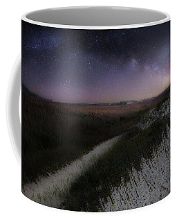 Coffee Mug featuring the photograph Star Flowers by Bill Wakeley