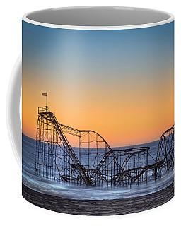 Star Jet Roller Coaster Ride  Coffee Mug by Michael Ver Sprill