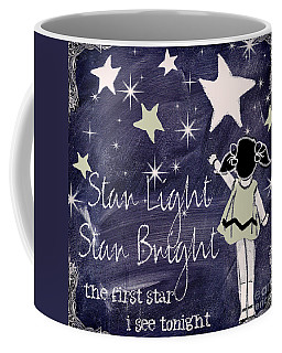 Star Light Star Bright Chalk Board Nursery Rhyme Coffee Mug