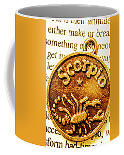 Star Sign In Scorpio Coffee Mug