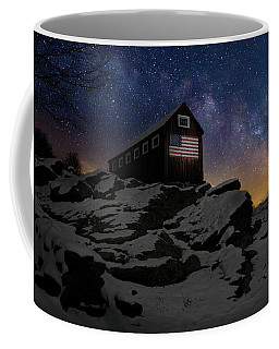 Coffee Mug featuring the photograph Star Spangled Banner by Bill Wakeley