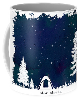 Coffee Mug featuring the digital art Star Struck by Heather Applegate