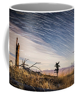 Star Trails Over Mt. Graham Coffee Mug