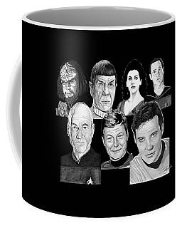Star Trek Crew Coffee Mug
