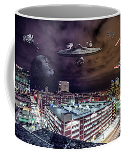 Coffee Mug featuring the photograph Star Wars Detroit by Nicholas Grunas