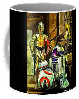 Star Wars Droid Family Coffee Mug