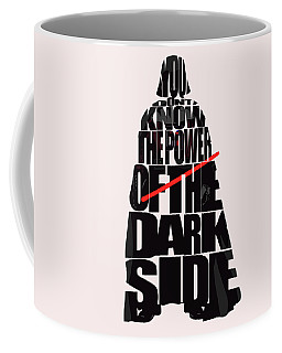 Star Wars Inspired Darth Vader Artwork Coffee Mug