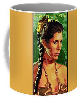 Star Wars Princess Leia Pop Art Portrait Coffee Mug
