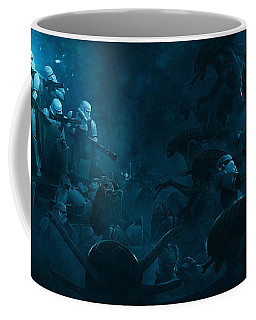 Star Wars Vs Aliens 1 Coffee Mug