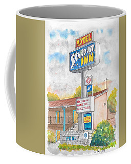Stardust Inn Motel, Barstow, California Coffee Mug