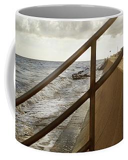 Stare Through The Lines Coffee Mug