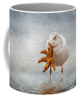 Starfish For Dinner Coffee Mug