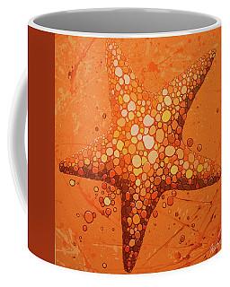 Starfish In Coral Coffee Mug
