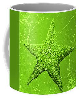 Starfish In Green Coffee Mug