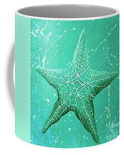 Starfish In Teal Coffee Mug