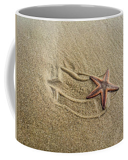 Starfish On The Beach Coffee Mug