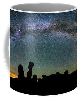 Coffee Mug featuring the photograph Stargazing Family by Darren White