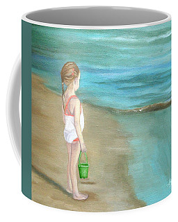 Staring At The Sea Coffee Mug