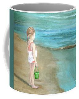 Staring At The Sea Coffee Mug