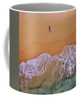 Coffee Mug featuring the photograph Staring At The Sky by Keiran Lusk