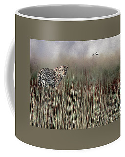 Coffee Mug featuring the photograph Staring Back by Diane Schuster