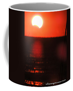 Staring Into A Star Eclipsed Coffee Mug