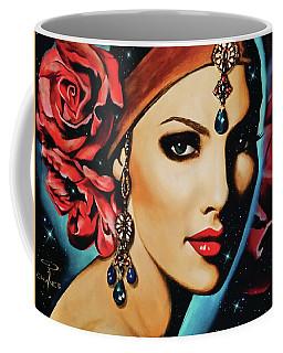 Starlight Rose Coffee Mug