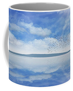 Starling Murmuration  Coffee Mug