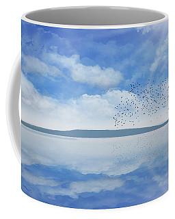 Starling Murmuration  Coffee Mug