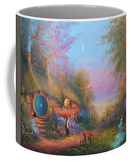 Bilbo Baggins Coffee Mug by Joe Gilronan