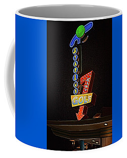 Coffee Mug featuring the photograph Starlux Miniature Golf by Kristia Adams