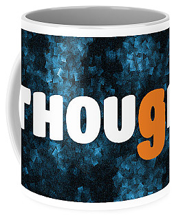 Starred Thoughts Tribute Coffee Mug