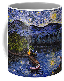 Starry Lake Coffee Mug