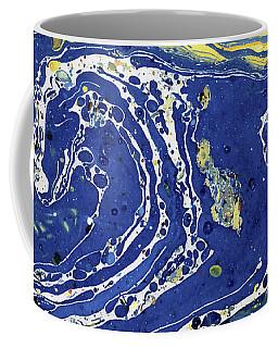 Starry Night Abstract Coffee Mug by Menega Sabidussi