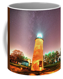 Starry Sky Over The Newburyport Harbor Light Coffee Mug