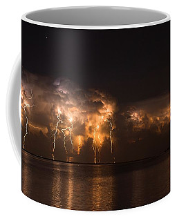 Stars And Bolts Coffee Mug by Quinn Sedam