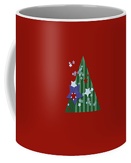 Stars And Stripes - Christmas Edition Coffee Mug