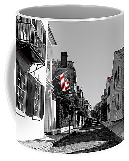 Stars And Stripes- Church St Charleston Sc Coffee Mug
