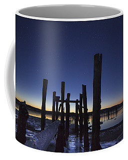Stars At Sandy Point Sunrise  Coffee Mug