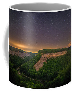 Coffee Mug featuring the photograph Stars Over Great Bend by Mark Papke