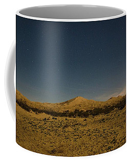 Stars Over Kelso Dunes Coffee Mug