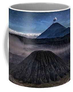 stars over Mount Bromo - Java Coffee Mug