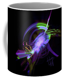 Starship Saxophone Coffee Mug