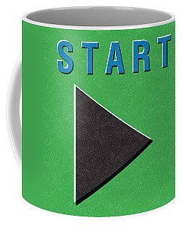 Start Button Coffee Mug
