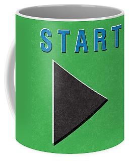 Start Button Coffee Mug