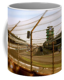 Start Finish Indianapolis Motor Speedway Coffee Mug
