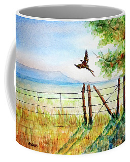 Startled Flight Coffee Mug