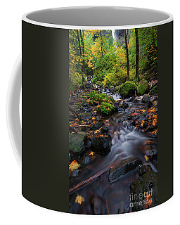 Coffee Mug featuring the photograph Starvation Autumn by Mike Dawson
