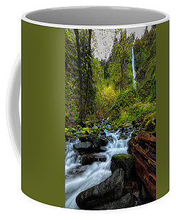 Starvation Creek And Falls Coffee Mug