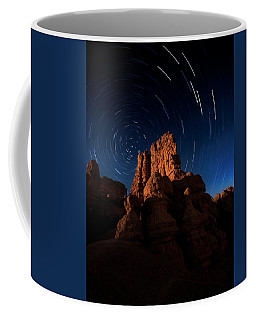 Coffee Mug featuring the photograph Stary Trails At Red Canyon by Edgars Erglis